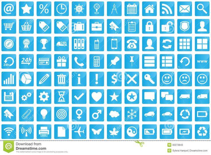 business-e-commerce-web-shopping-icons-set-modern-style-blue-color-30273843.jpg (1300×957)