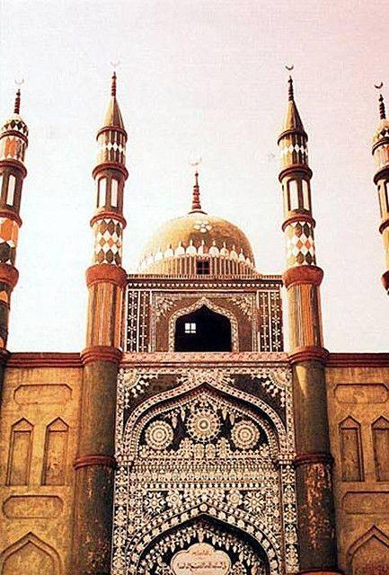 Qazihan Mosque, (China).