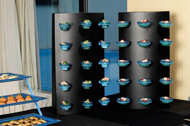 Sweets display buffet