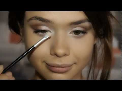 ▶ Сaramelle vanilla makeup tutorial / Карамельный макияж - YouTube
