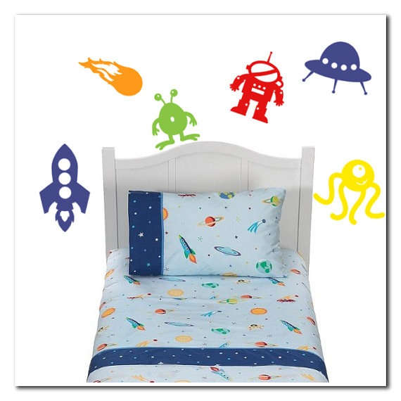 116 best outer space nursery theme images on pinterest for Outer space vinyl wall decals