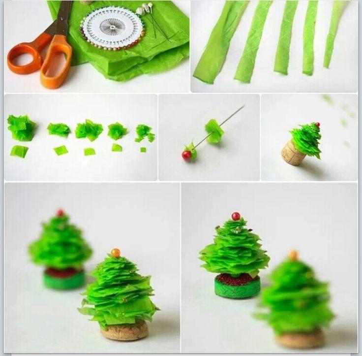Make Mini Christmas Tree
