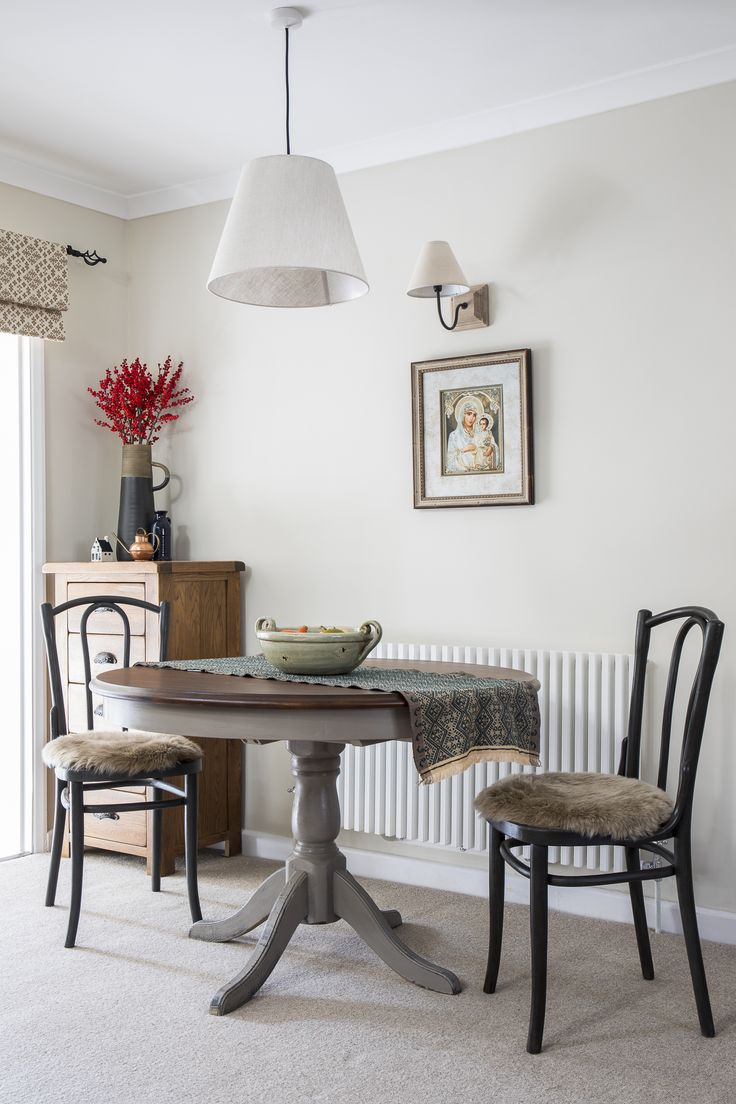 traditional style, country style, traditional dining room, painted furniture, Annie Sloan chalk paint