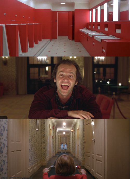 """""""Wendy? Darling? Light, of my life. I'm not gonna hurt ya. You didn't let me finish my sentence. I said, I'm not gonna hurt ya. I'm just going to bash your brains in."""" -The Shining (1980)"""