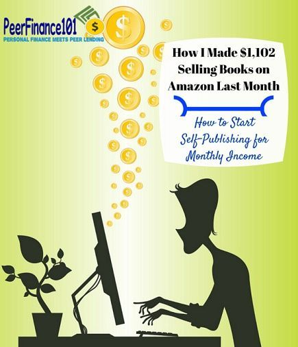 How I've grown my self-publishing income to $1,100 a month from nothing in less than a year. Don't miss one of the best income streams around and how to sell books on Amazon.