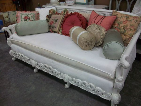 Fun Consignment Shop   Stillwater, Minnesota   Amazing Vintage Sofa With  Cane Back And Wood