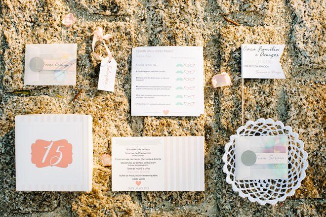 Wedding stationery designed by Sofia Ferreira from Branco Prata. More here: http://www.fotografamos.com/2013/12/18/soraia-diogo-wedding/