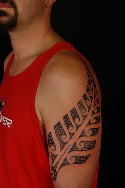 Maori Fern Tattoo: Koru Tattoo: Maori Silver Fern