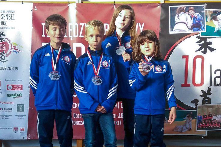 Młodzi Wojownicy z medalami w Płocku