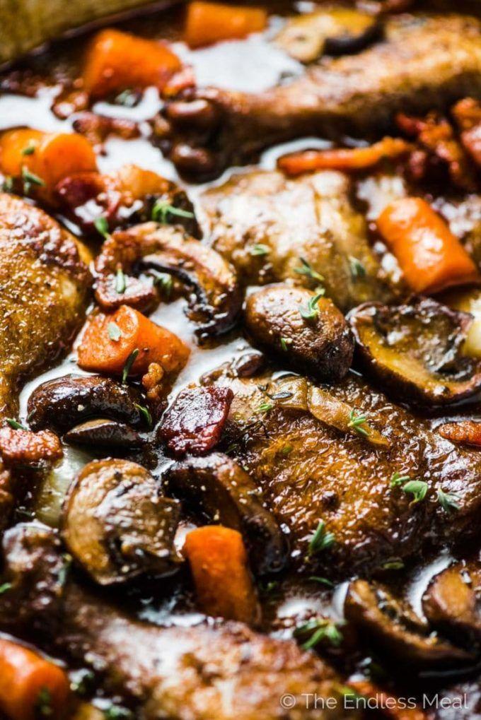 Julia Child S Coq Au Vin Recipe Coq Au Vin Chicken Dishes Easy Cocovan Recipe