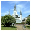 """Historic Jackson Square, originally known in the 18th Century as """"Place d'Armes"""" and later renamed in honor of the Battle of New Orleans hero Andrew Jackson, is a timeless attraction in the heart of the French Quarter of New Orleans."""