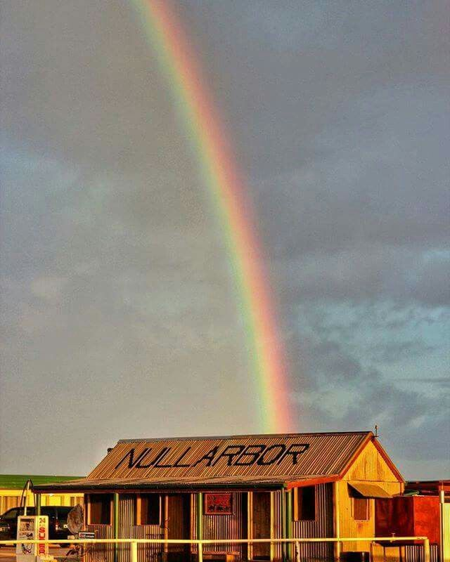 Pot of gold at the Nullarbor Roadhouse