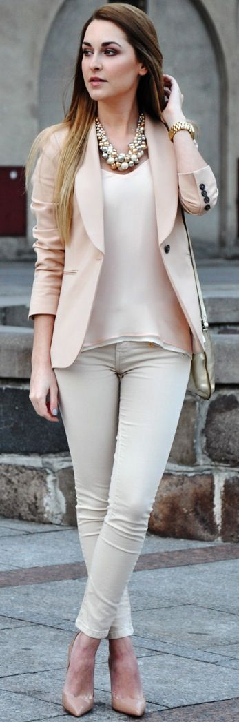 Soft Pink Blazer karina in fashionland