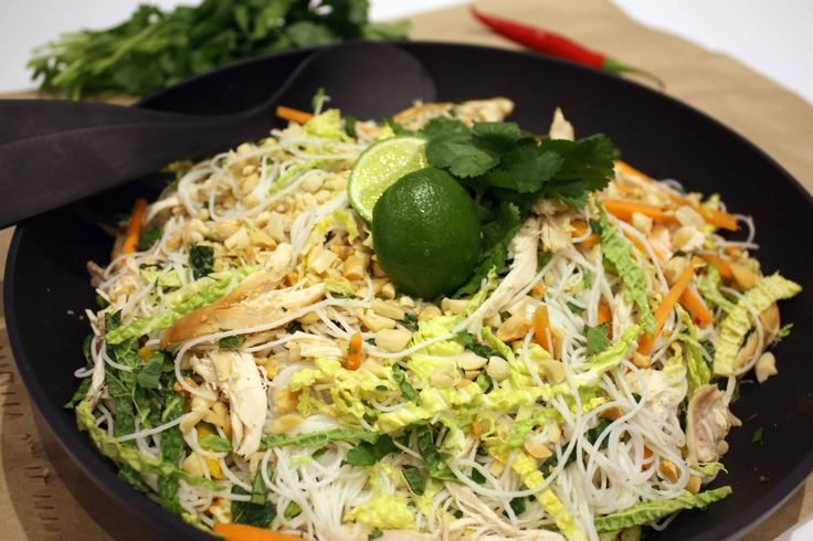 Delicious and Nutritious Vietnamese Chicken  Salad
