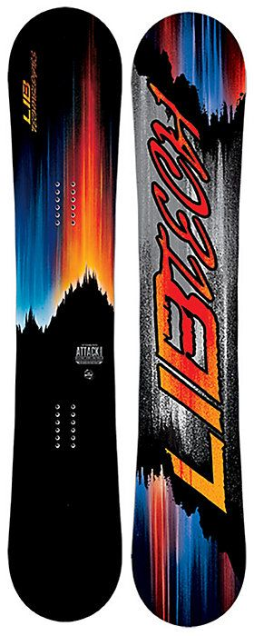 2017 Lib Tech Attack Banana Wide Snowboard - Men's - Christy Sports