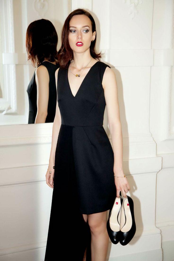 Pleated dress by Alae Czech Republic