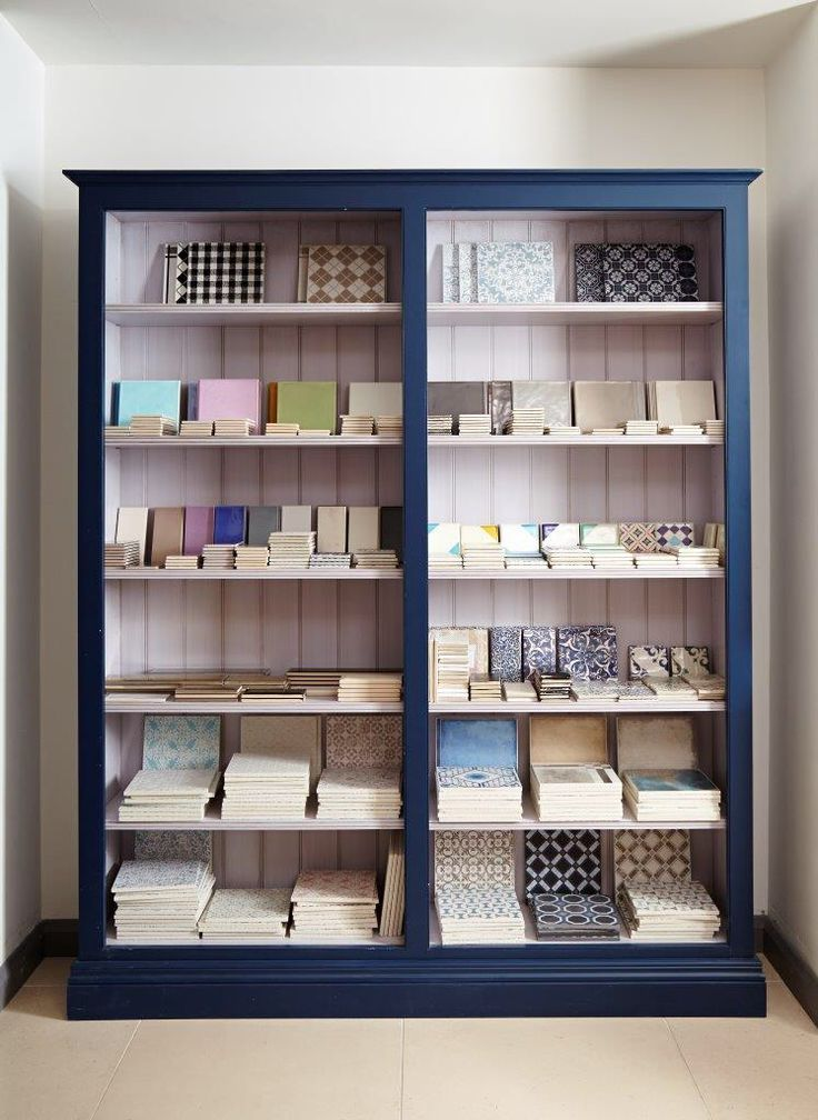 Colourful and quirky 'Decorative and Glazed' tile display in our Mandarin Stone Weybridge showroom. www.mandarinstone.com