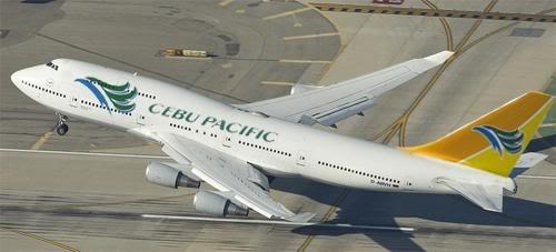 Cebu Pacific Airways Philippines Boeing Aircraft