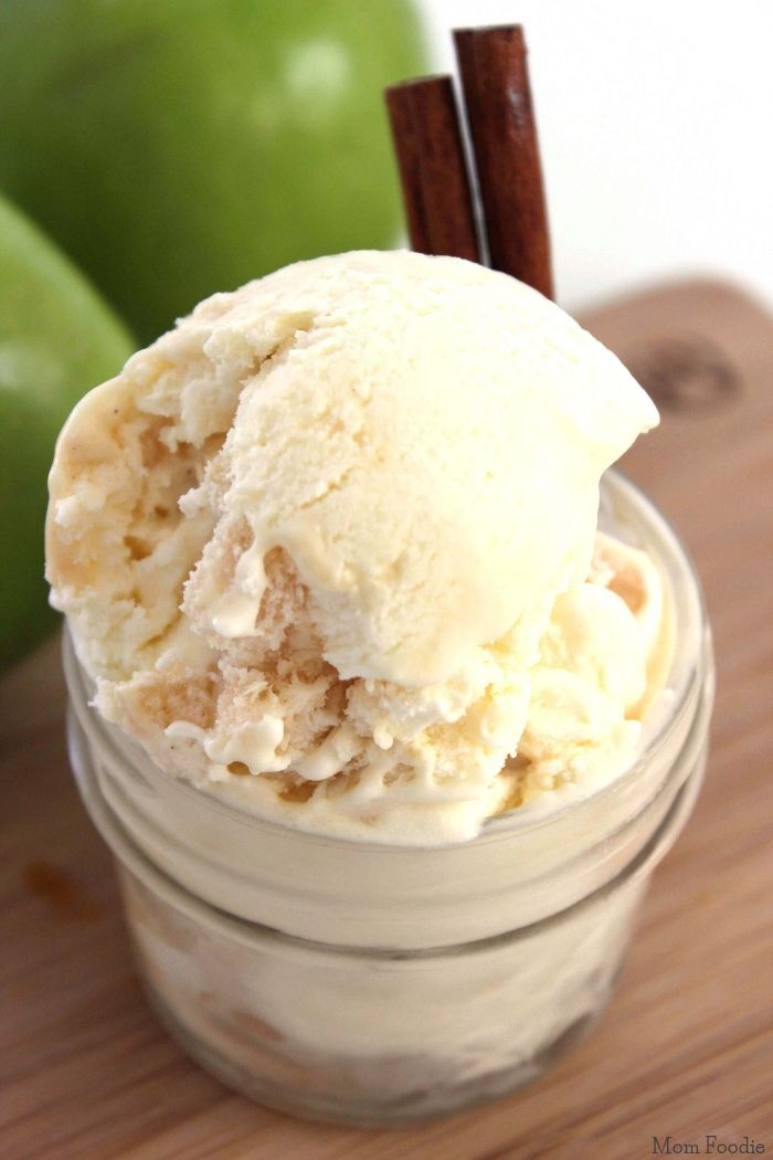 254 best we all scream for ice cream images on pinterest ice caramel apple ice cream easy no churn recipe mom foodie ccuart