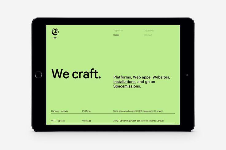 Lunar Gravity is a boutique digital design & development studio based in Antwerp, Belgium.   Website by Matthias Deckx