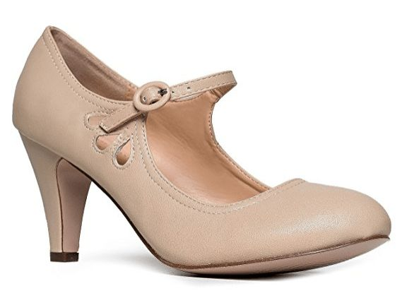 Cream shoes for bridesmaids (that we don't call NUDE!)