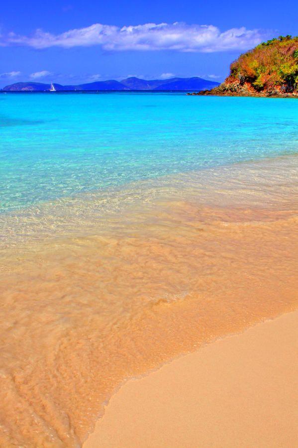 Beachside on Saint Thomas in the Virgin