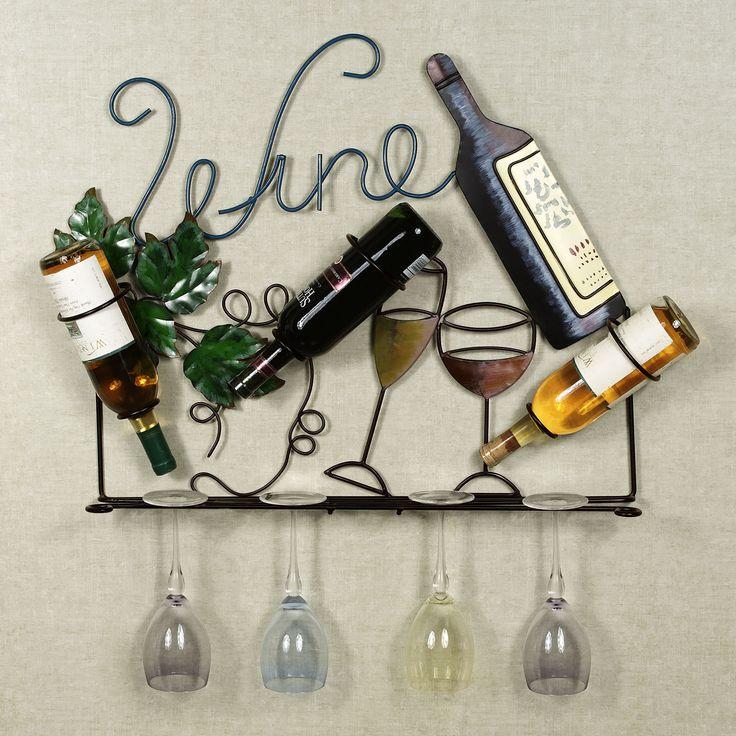 wine wall decor home francesca wall wine bottle holder