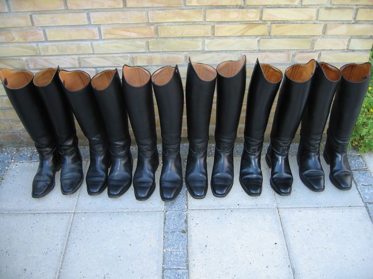 All my Petrie boots except one pair. I wear them on when taken this photo.