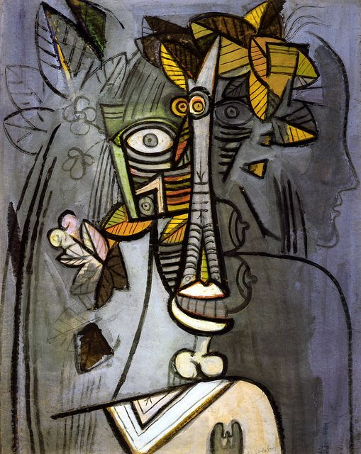 Wifredo Lam - Your Own Life, 1942 at The Kreeger Art Museum Washington DC