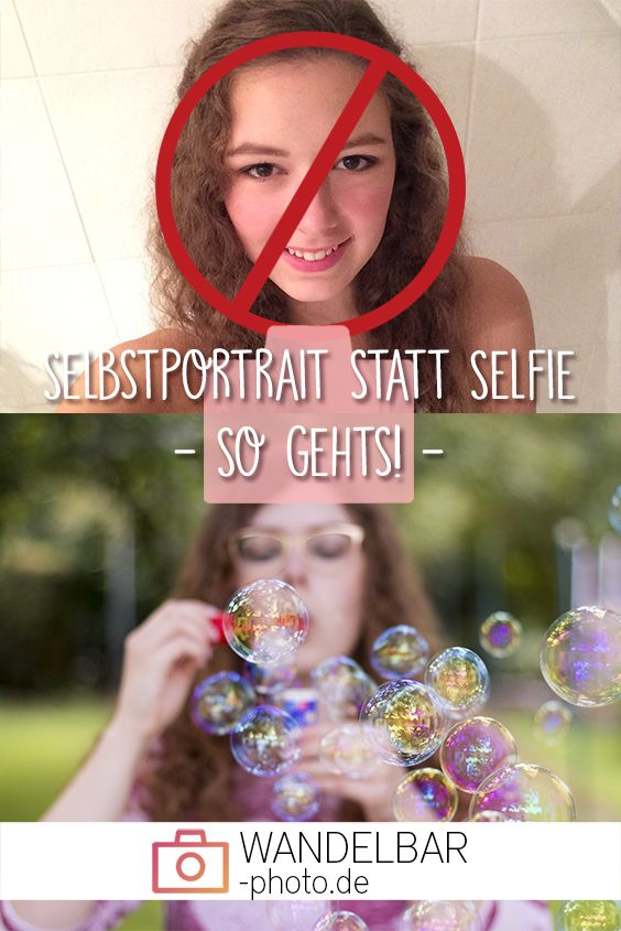 Ciao Selfie - Hallo Selbstportrait!