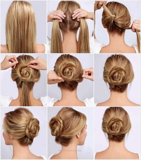 Easy Diy Bun Hairstyles: 50+ Simple DIY Hairstyles Step By Step Hairstyling For