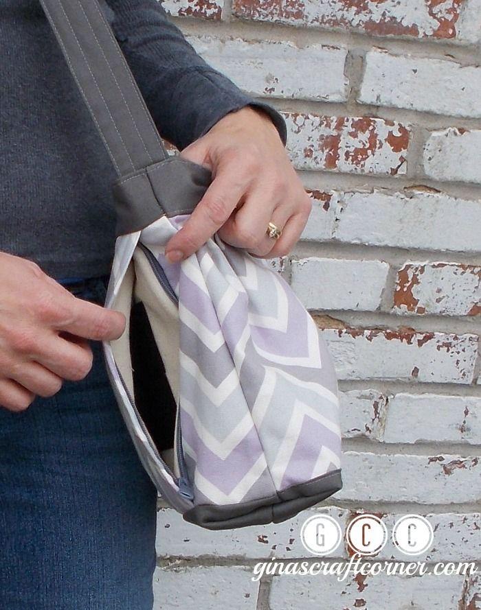 GCC Classic Concealed Carry Purse by Ginas Craft Corner @ ginascraftcorner.com