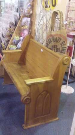 Awesome, Antique Church Bench For $250 At My Fave Hangout, The Brass  Armadillo ( Pictures Gallery