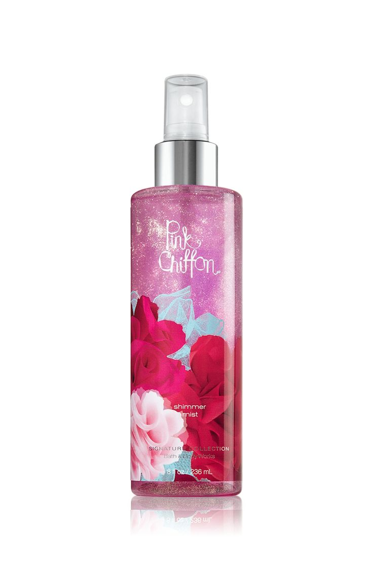 Pink Chiffon Shimmer Mist - Signature Collection - Bath & Body Works