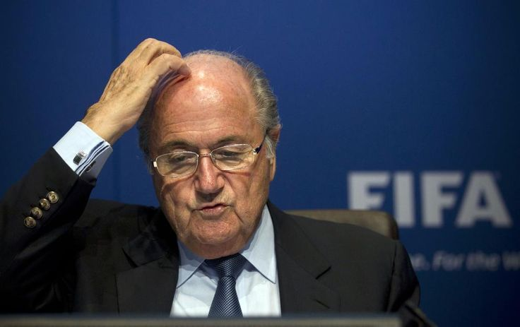 Blatter steps out of FIFA's presidency