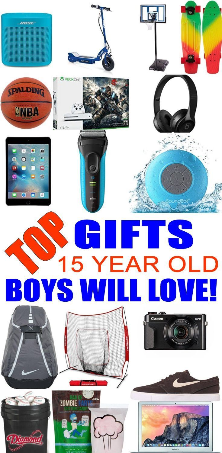 Top Gifts For 15 Year Old Boys Best Gift Suggestions Presents Fifteenth Birthday Or Christmas Find The Ideas Fo