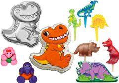 Click to View Dinosaurus Taart Versieringen