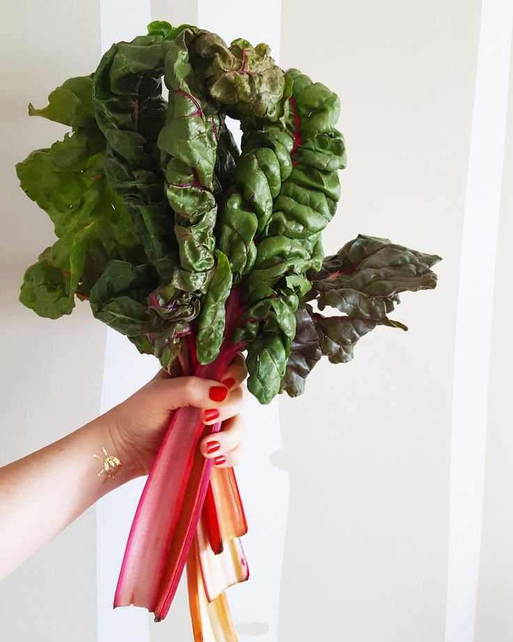 What shall I cook with rainbow chard?