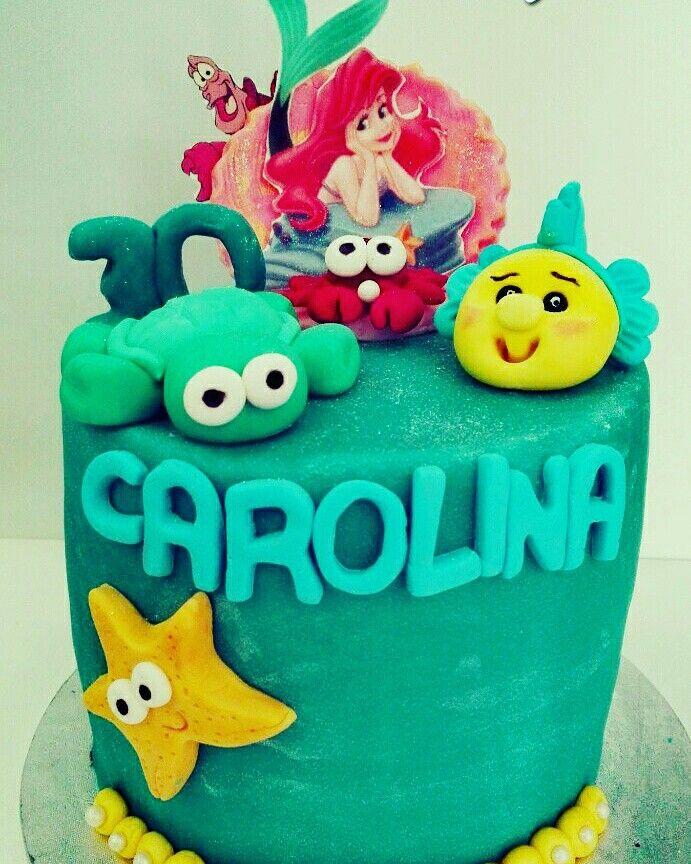 #Tarta #Ariel #sirenita #sebatian #sirena #bday #cumpleaños #fuerteventura #canarias #tortuga #turtle #estrellademar #fondant #cake #mar #pez #cangrejo #concha #caracola #turtle #marina