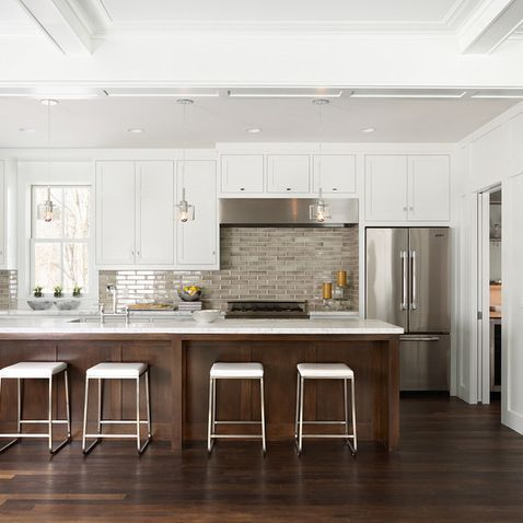 Image Result For Cooktop Not Centered With Range Hood Contemporary Kitchen Contemporary Kitchen Island Kitchen Design