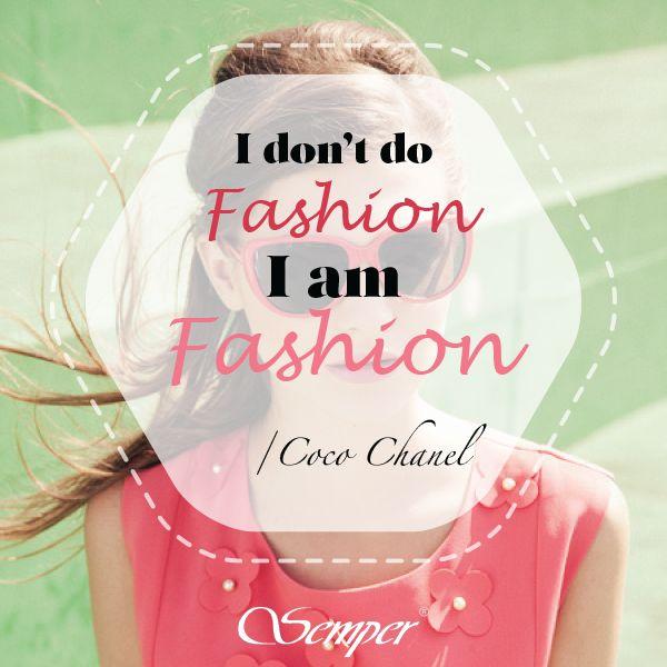 Dewiza każdej szanującej się fashionistki :) #semper #fashion #womanfashion #moda #cytatysemper #semperrights