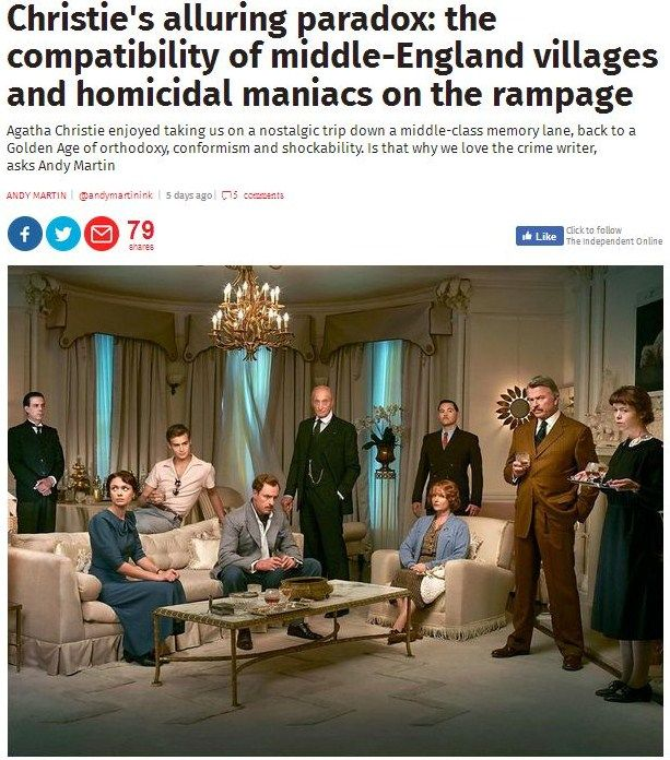 Oh dear. I seem to have read this article http://www.independent.co.uk/news/long_reads/christie-hercule-poirot-murder-mysteries-mousetrap-harrogate-kenneth-branagh-murder-on-the-orient-a7862316.html a hundred times before. Doesn't Andy Martin realise that some of us have actually bothered to read Christie?