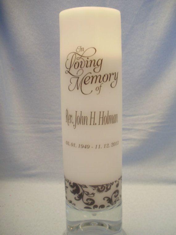 Memorial Candles | Memories, In loving memory and Memorial ...