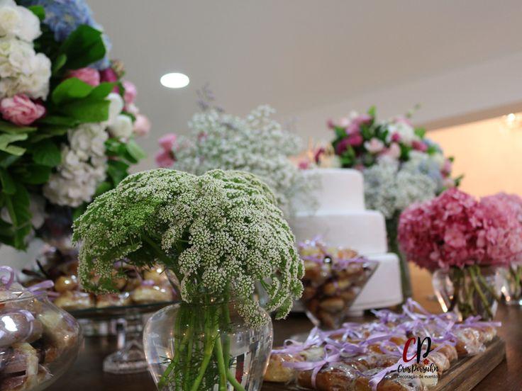 Mesa de bolo - casamento