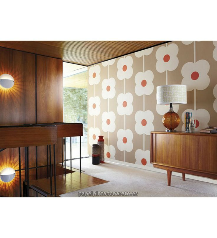 17 best images about papel pintado harlequin orla kiely on - Papel pintado harlequin ...