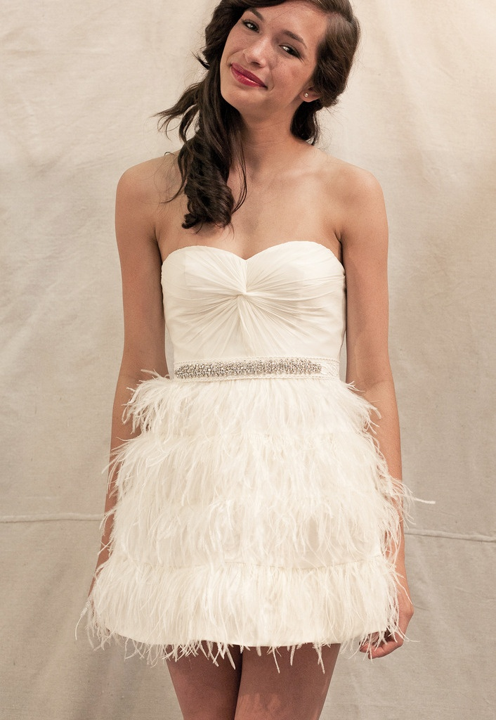 Awesome Ivy u Aster Plume Reception Dress