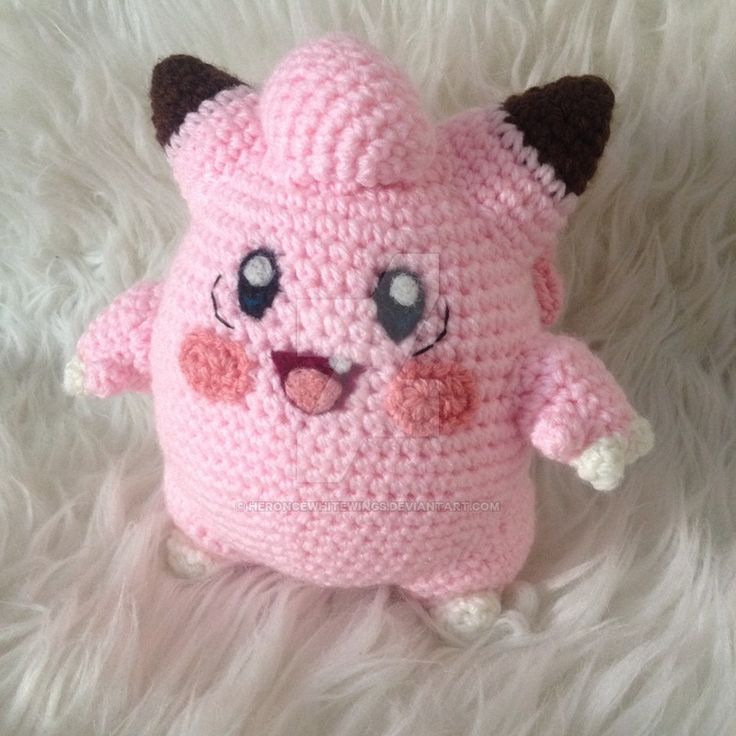 Clefairy (with pattern) by HerOnceWhiteWings on DeviantArt