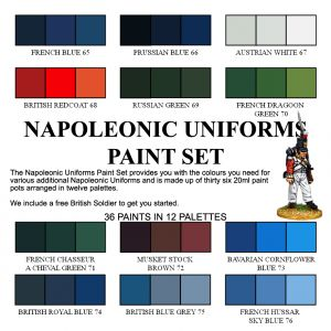 Wargames Foundry :: The Napoleonic Uniforms Painting Set