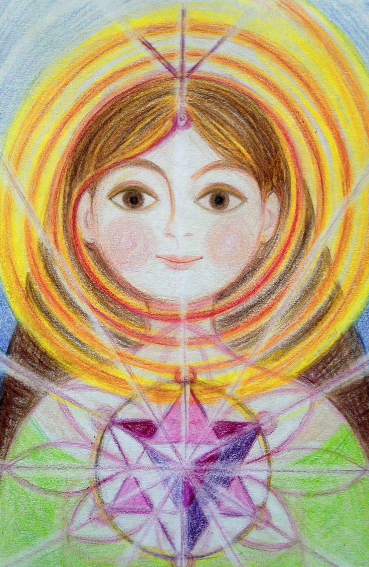 Priestess of Inner Power by Ivana Axman