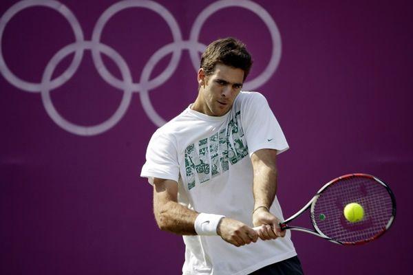 Del Potro avanza a paso firme en los Juegos Olímpicos 2012